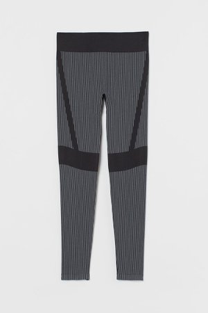 High Waist Leggings - Black