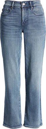 NYDJ Marilyn Straight Leg Ankle Jeans (Monet Blue) | Nordstrom