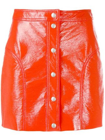 Courrèges Buttoned Mini Skirt