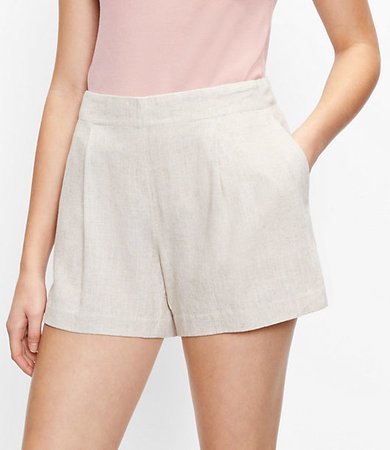 The Pleated Pull On Short