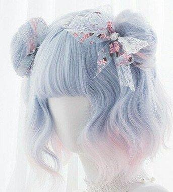 pastel wig