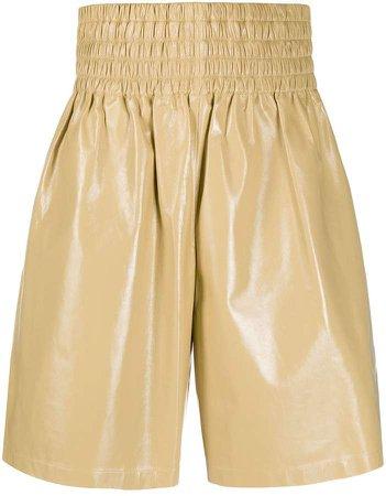 Elasticated Waist Knee-Length Shorts