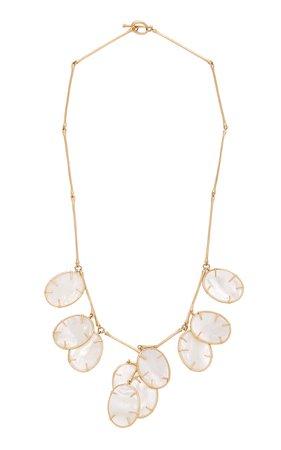 Annette Ferdinandsen Silver Dollar Plant Necklace