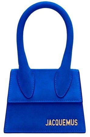 JACQUEMUS Cobalt Blue Mini Handbag