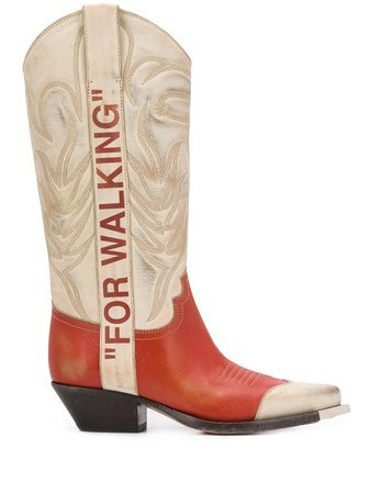 Off-White For Walking Cowboy Boots - Farfetch