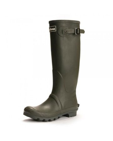Lyst - Barbour Bede Ladies Wellington Boots in Green