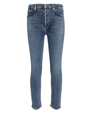 AGOLDE Nico High-Rise Skinny Jeans | INTERMIX®