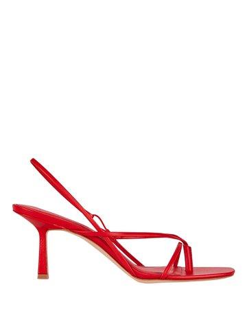 Studio Amelia 2.42 Leather Flip-Flop Sandals | INTERMIX®