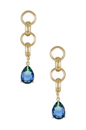 Amber Sceats Amber Drop Earrings in Gold | REVOLVE