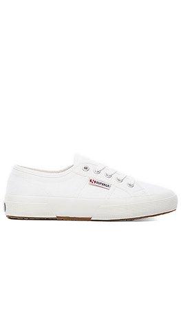 Superga 2750 Cotu Classic Sneaker in White   REVOLVE
