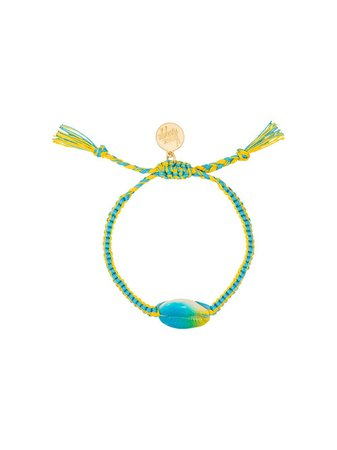 Venessa Arizaga Tie-Dye Shell Bracelet   Farfetch.com