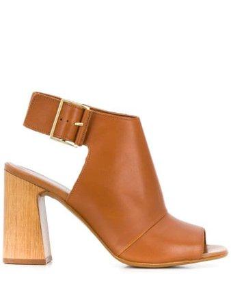Carvela Open Toe Ankle Boots - Farfetch