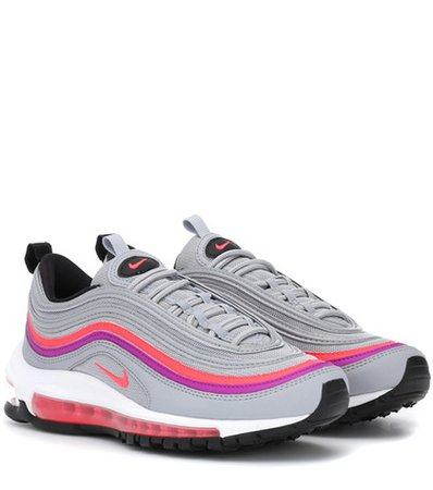 Air Max 97 leather sneakers