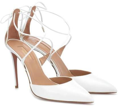 Very Matilde 105 leather pumps