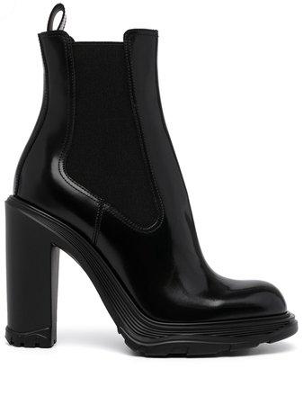 Alexander McQueen Tread Heeled Chelsea Boots - Farfetch