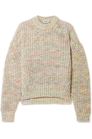 Acne Studios | Zora oversized knitted sweater | NET-A-PORTER.COM