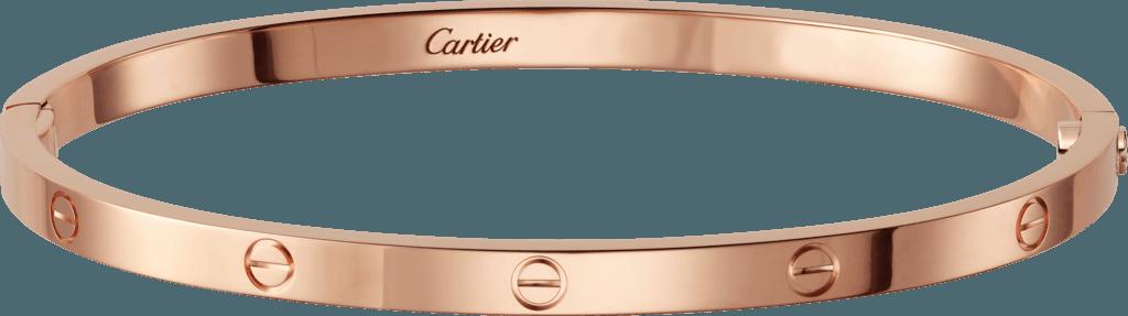 cartier love bracelet rose gold