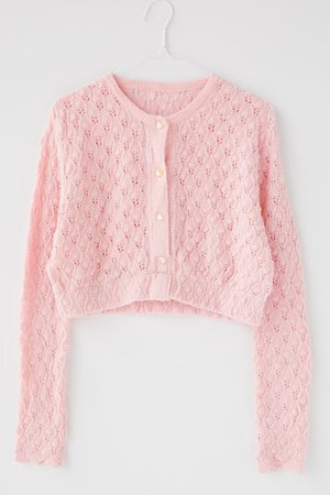 Urban Renewal Recycled Grandma Cropped Cardigan Sweater | Urban Outfitters