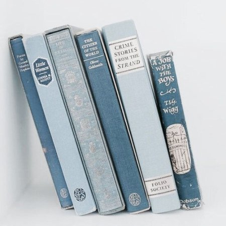 light blue books