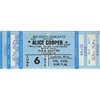 Pinterest | filler rock ticket stub alice cooper