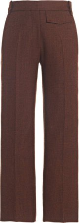 Victoria Beckham Penelope Straight-Leg Wool Trousers