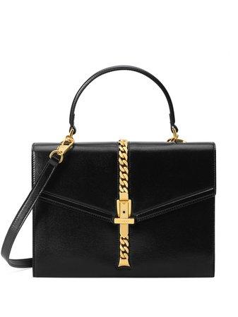 Gucci Small 1969 Sylvie Tote Bag 6027811DB0G Black   Farfetch