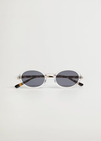 Clear frame sunglasses - Woman | Mango Greece