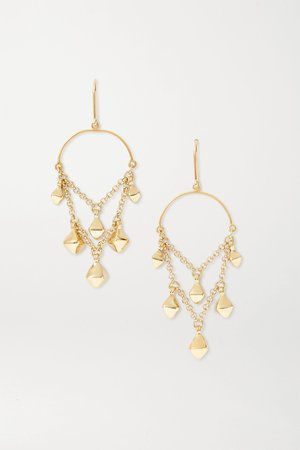 Gold Tanganyika gold-tone earrings | Isabel Marant | NET-A-PORTER