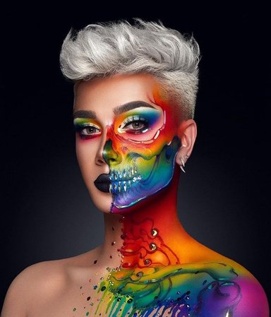 James Charles Rainbow Look