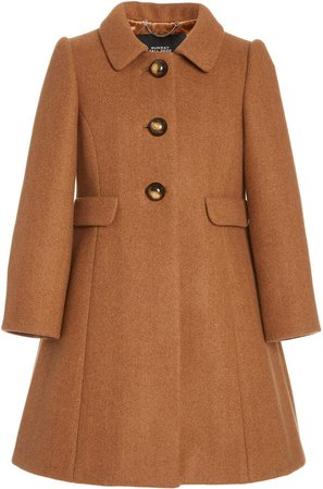 Marc Jacobs Wool-Herringbone Peacoat