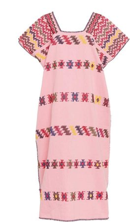 Holt Multicolor Short Sleeve Midi Dress