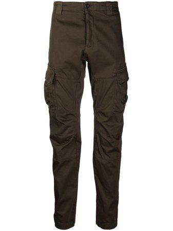 C.P. Company mid-rise straight-leg trousers - FARFETCH