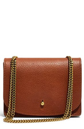 Madewell Leather Crossbody Wallet | Nordstrom