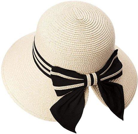 Floppy Summer Sun Beach Straw Hats for Women Accessories Wide Brim