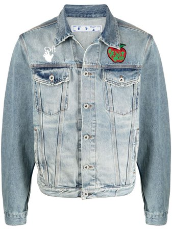 Off-White Apple Denim Jacket