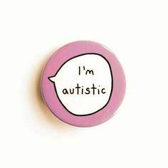 im autistic pin asd etsy