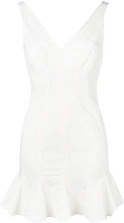flared mini dress