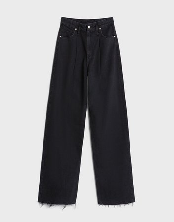 Wide-leg jeans - New - Woman | Bershka