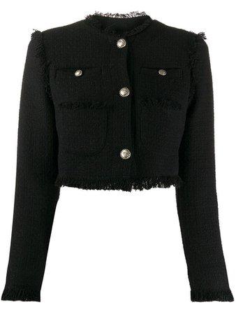 BROGNANO tweed cropped jacket