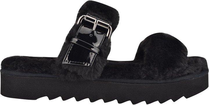 Funkie Cozy Flat Slide Sandals