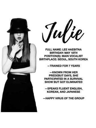 """JULIE"" PROFILE, VIXEN ERA"