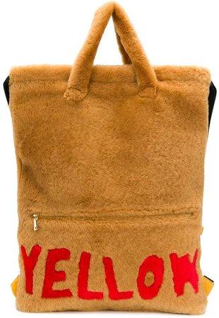 Liska Yellow backpack