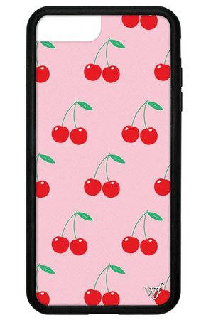Pink Cherries iPhone 6/7/8 Plus Case – Wildflower Cases