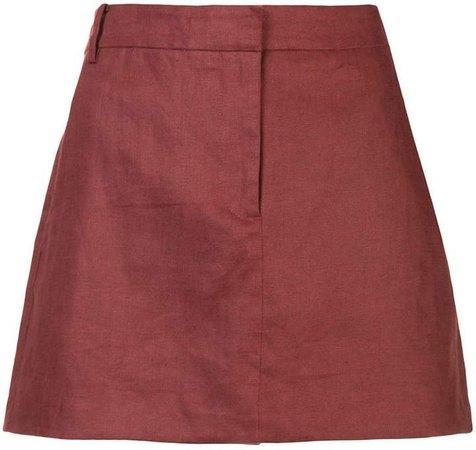 canvas short skirt