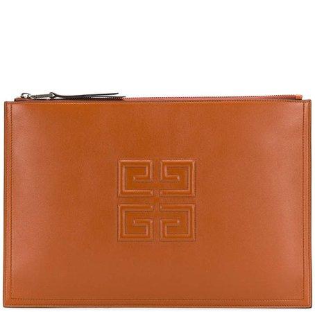 4G logo clutch bag