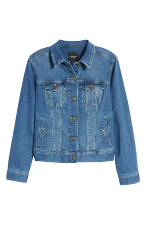 Liverpool Classic Denim Jacket | Nordstrom