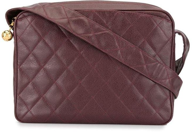 Pre-Owned 1992 diamond quilted shoulder bag