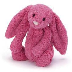 pink bunny plushie