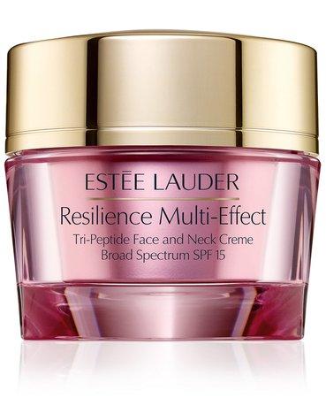 Estée Lauder Resilience Multi-Effect Tri-Peptide Face & Neck Creme - Normal/Combination Skin, 1-oz. & Reviews - Skin Care - Beauty - Macy's
