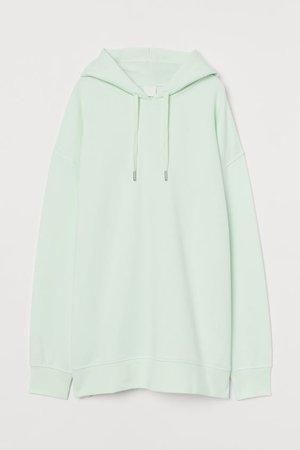 Oversized Hoodie - Mint green - Ladies | H&M US